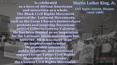 Honoring all who have sacrificed for Civil rights this #BlackHistoryMonth2016  What Martin Luther King Jr. Did for the Latino Civil Rights Movements
