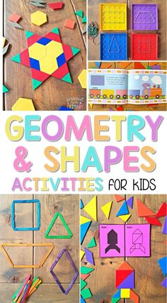 The ultimate spot for geometry and shapes activities for kids in Kindergarten and first grade. Kids will have fun learning, playing, and building with shapes, blocks, and more, while trying out the ideas and resources. A FREE printable pattern block symme