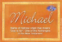 6 SPIRITUAL MEANING OF NAME MICHAEL, SPIRITUAL MICHAEL OF