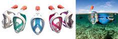 Empresa francesa lança máscara de snorkel revolucionária