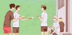 A blog completely devoted to Haikyuu!! Updates every day.