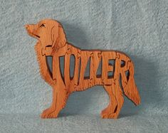 Toller Nova Scotia Duck Tolling Retriever by huebysscrollsawart