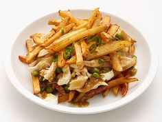 Chicken and Cheese Poutine Recipe : Food Network Kitchens : Food Network - FoodNetwork.com