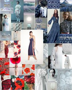 Moodboard made after visiting Fashion Fairs in Berlin and Amsterdam #2