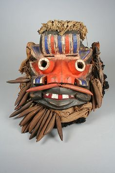 Mask [Guere peoples culture]. Côte d'Ivoire, 19th-mid-20th century.