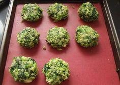 Croquetas de brocoli y espinaca