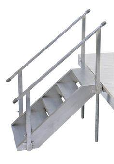 D.H. Aluminum Dock Stairs