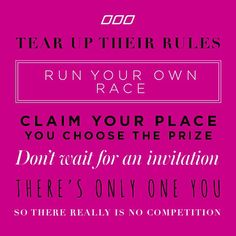 There is only one YOU! xx Follow us on Instagram @Lorna Jane