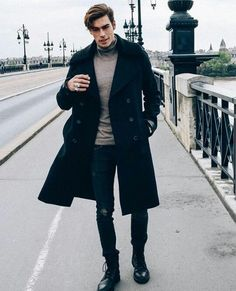 Winter Outfits for Men - Layering is KING. - The Indian Gent-Winter Outfits for Men – Layering is KING. – The Indian Gent Grey and Dark Mens Fashion Combination - Dark Mens Fashion, Best Mens Fashion, Classy Mens Fashion, Winter Mode Outfits, Winter Fashion Outfits, Casual Outfits, Winter Outfit For Men, Men Winter Fashion, Mens Dress Outfits