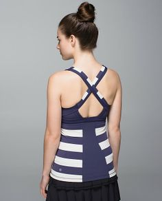 lululemon makes technical athletic clothes for yoga, running, working out, and most other sweaty pursuits. Tennis Tops, Athletic Outfits, How To Run Longer, Things That Bounce, Lululemon, Athletic Tank Tops, Bra, My Style, Clothes