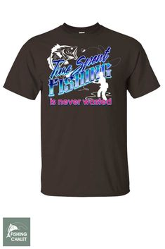 fbc8ffc31 Time Spent Fishing Is Never Wasted Youth T-Shirt a | Youth T-Shirt