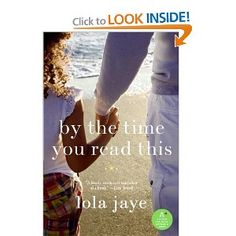 By the Time You Read This~Lola Jaye (LOVE this book...my daughter did too)