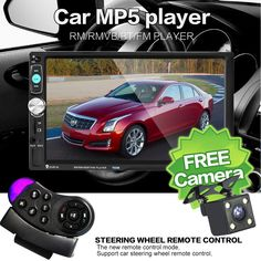 """2 Din Universal 7'' Inch LCD Touch Screen Car Radio Player Bluetooth - Car Audio - Rear View Camera + Steering Wheel Remote Control //WAS: £80.96 NOW: £61.00 & FREE Shipping!!! //   2 Din Universal 7"""" Inch LCD Touch Screen Car Radio Player Bluetooth – Car Audio – Rear View Camera + Steering Wheel Remote Control   https://makeitsogadgets.com/2-din-general-car-models-7-inch-lcd-touch-screen-car-radio-player-bluetooth-car-audio-rear-view-camera-steering-wheel-contro/  #hashtag4"""