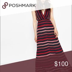 RARE ✨Zara sold out striped metallic knit dress Zara sold out striped metallic knit dress. New with tags. Obviously no flaws Zara Dresses Maxi