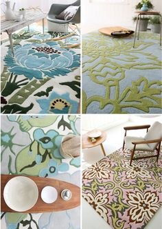 Floral Rugs - Amy Butler