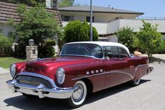 1954 BUICK ROADMASTER 2 DOOR COUPE - Barrett-Jackson Auction Company - World's Greatest Collector Car Auctions