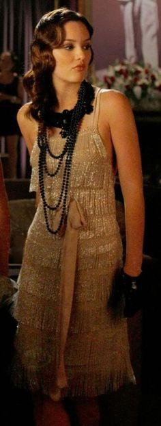 Blair Waldorf flapper dress