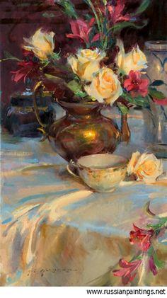 Gerhartz Daniel F. - 'Passion Rose and Tea'