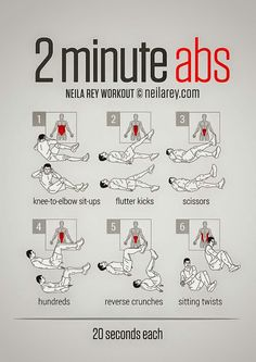 At home abs