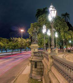 Promenade, mais belo do mundo... Bairro da Glória, Rio de Janeiro, Brasil.