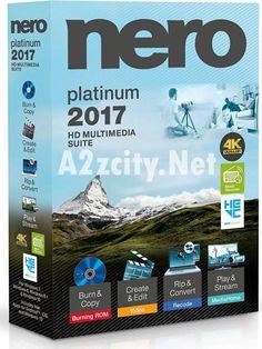 Nero 2017 Platinum v18.0.06100 Incl License Key