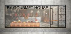 Bs GOURMET HOUSE Shop  http://www.teamprj.com/projeler/27/
