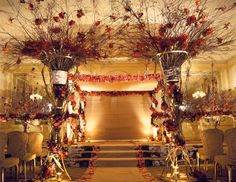 WOWZA! Stunning Preston Bailey wedding decor!