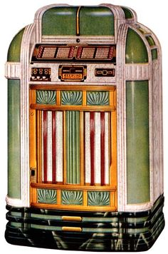 - 1940 Seeburg Colonel jukebox - #music #jukebox #records #vinyl #audio #vintage #Seeburg http://www.pinterest.com/TheHitman14/the-jukebox/