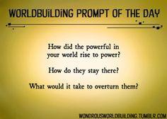 Wondrous Worldbuilding
