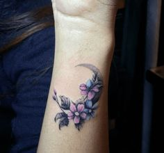Flowered Moon