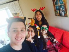 Christmas with friends❣, 2015.