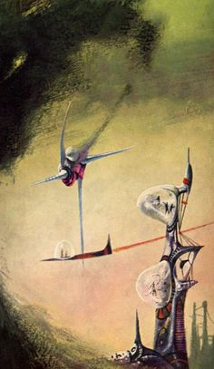Richard Powers - The Skylark of Space, 1962.