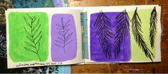 Paint. Paper. Play.: Color Block Mini Sketchbook