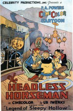 The Headless Horseman by Ub Iwerks