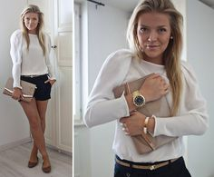 I LOVE Linda Juhola's style AND her  blog. I'm so in love with this Zara shirt, but I can't find it anywhere! Ugh!