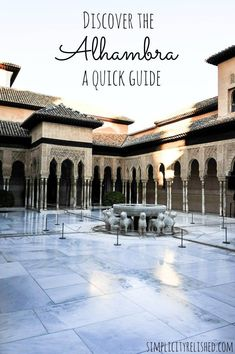 Visit the Alhambra in Granada, Spain for one of the most magnificent palaces left behind by the Moors.   Alhambra Photo Diary and Quick Guide