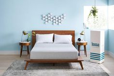 Online-mattress upstart Leesa Sleep will start selling its mattresses at West Elm's furniture and home decor stores, replacing Casper. Casper Mattress, Best Mattress, Foam Mattress, Bedroom Furniture, Bedroom Decor, Bedroom Modern, One Storey House, 2 Bedroom House, Small House Design
