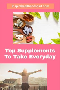 Not sure which supplements to take? These 7 supplements are a great starting point. #supplements#vitaminD#fishoil#calcium#healthandwellness#wellness#supplementsforwomen Top Supplements, Fish Oil, Health And Wellness, Vitamins, Place Card Holders, Health Fitness, Vitamin D
