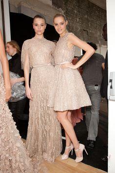 Elie Saab at Couture Spring 2012 (Backstage)