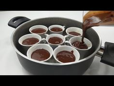 Žiadne pečenie! Odkedy som vedel, že takto sa dá pripraviť aj suflé - YouTube Pizza Oven Outdoor, Cake Recipes, Cupcake Cakes, Cupcakes, Pudding, Chocolate, Cooking, Tableware, Sweets