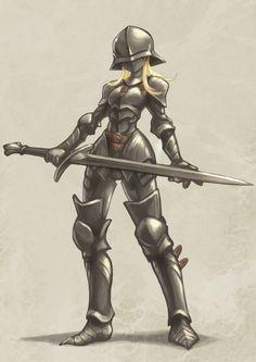 Female Armor, Female Knight, Lady Knight, Fantasy Character Design, Character Inspiration, Character Art, Fantasy Characters, Female Characters, Female Swordsman