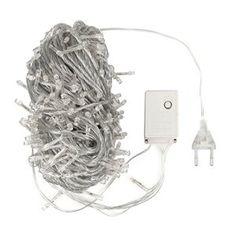 SAVFY® Guirlandes Lumineuses Déco 10 M 100 LED Ampoules Multicolore Lumières Décoratives Prise EU pour Noël, Sapin, Maison, Fêtes,…