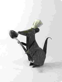 L'origami ratatouille !