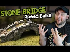 Stone Bridge for D&D Tutorial (Black Magic Craft Episode 075) - YouTube