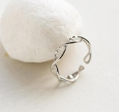 Double Helix Anel Ring