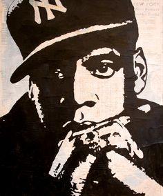 Hip Hop Art - Jay Z  www.loyallisteners.net