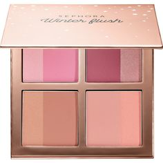 Winter Flush Blush Palette SEPHORA COLLECTION (62 RON) ❤ liked on Polyvore featuring beauty products, makeup, cheek makeup, blush and sephora collection
