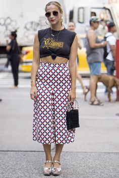 Get Your Street Style Fix Straight From New York Fashion Week Day 2