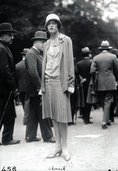 1927 - Chanel ensemble