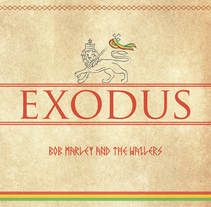 Bob Marley - Exodus, un proyecto de alvaro_correa | Domestika